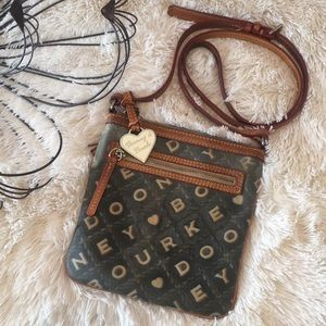 Dooney & Bourke Crossbody Crossword Letter Carrier